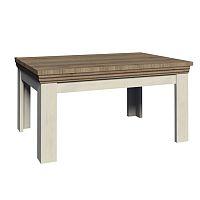 TEMPO KONDELA Jedálenský rozkladací stôl, sosna nordická/dub divoký, ROYAL ST