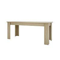 TEMPO KONDELA Jedálenský stôl 180, typ 03, dub sonoma, KASIOPEA