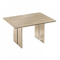 TEMPO KONDELA Jedálenský stôl, dub sonoma, LEONOR