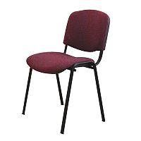 TEMPO KONDELA Kancelárska stolička, bordová, ISO NEW