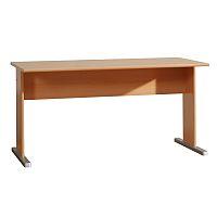 TEMPO KONDELA Kancelársky stôl, buk, TEMPRA 12