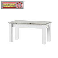 TEMPO KONDELA Konferenčný stolík, biela, LIONA LM 97