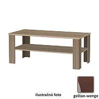 TEMPO KONDELA Konferenčný stolík, dlhý, gaštan - wenge, INTERSYS NEW 22