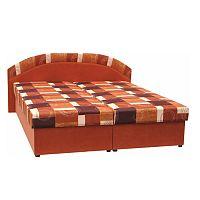 TEMPO KONDELA Manželská posteľ s úložným priestorom, molitánová, 165x195 cm, KASVO