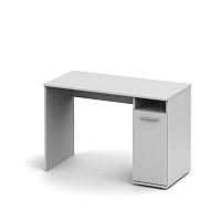 TEMPO KONDELA PC stôl , biela, NOKO-SINGA 21