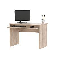 TEMPO KONDELA PC stôl, dub sonoma, JOHAN 02
