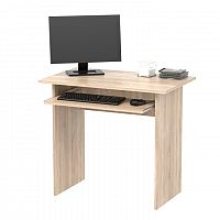 TEMPO KONDELA PC stôl, dub sonoma, VERNER