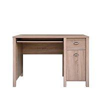 TEMPO KONDELA PC stôl s jednými dverami a jednou zásuvkou, dub sonoma, GALA TYP 08