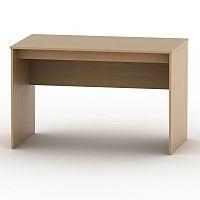 TEMPO KONDELA Písací stôl, buk, TEMPO ASISTENT NEW 021 PI