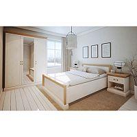 TEMPO KONDELA Spálňová zostava nábytku, sosna biela nordická, ROYAL