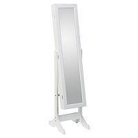 TEMPO KONDELA Zrkadlo FY13015-3, biela, MIROR
