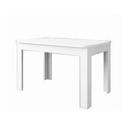 TEMPO KONDELA Jedálenský rozkladací stôl OLIVIA, DTD laminovaná, woodline krem, TIFFY