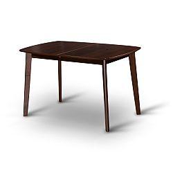 TEMPO KONDELA Jedálenský rozkládací stôl, orech, CHAN