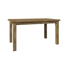 TEMPO KONDELA Jedálenský stôl, dub lefkas, MONTANA STW