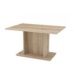 TEMPO KONDELA Jedálenský stôl, dub sonoma, MODERN