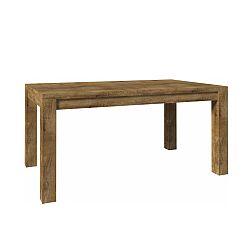 TEMPO KONDELA Jedálenský stôl ST 160, dub lefkas, NEVADA