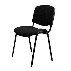 TEMPO KONDELA Kancelárska stolička, čierna, ISO NEW