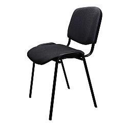 TEMPO KONDELA Kancelárska stolička, sivá, ISO NEW