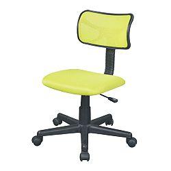TEMPO KONDELA Kancelárska stolička, zelená, BST 2005