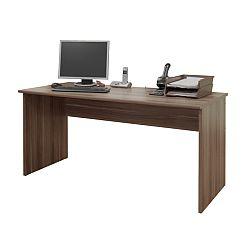 TEMPO KONDELA Kancelársky stôl, slivka, JOHAN 01
