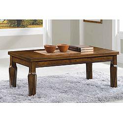 TEMPO KONDELA Konferenčný stolík, antický dub, RUSTY