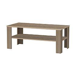 TEMPO KONDELA Konferenčný stolík, dlhý, tmavy truflový dub sonoma, INTERSYS 22