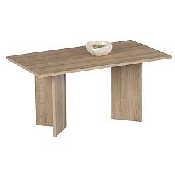 TEMPO KONDELA Konferenčný stolík, dub sonoma, MINIMAL
