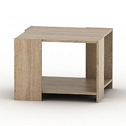 TEMPO KONDELA Konferenčný stolík, dub sonoma, TEMPO ASISTENT NEW 026