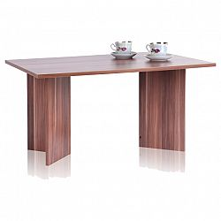 TEMPO KONDELA Konferenčný stolík, orech, MINIMAL