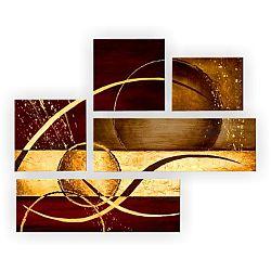 TEMPO KONDELA Obraz, ručne maľovaný, 130x100 cm, HT 11372