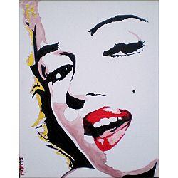 TEMPO KONDELA Obraz, ručne maľovaný, 80x100 cm, 30019