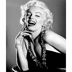 TEMPO KONDELA Obraz, s motívom Marilyn Monroe, 70x100 cm, T043