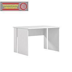 TEMPO KONDELA PC stôl, biela, BEK - 08