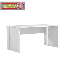 TEMPO KONDELA PC stôl, biela, BEK - 09