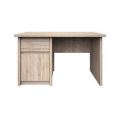 TEMPO KONDELA Pc stôl, DTD laminovaná, Dub sonoma, NORTY