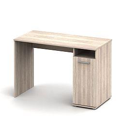 TEMPO KONDELA PC stôl , dub sonoma, NOKO-SINGA 21