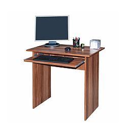 TEMPO KONDELA PC stôl, slivka, VERNER