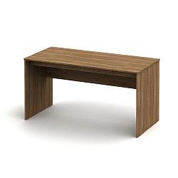 TEMPO KONDELA Písací stôl 150, bardolino tmavý, TEMPO ASISTENT NEW 020 PI
