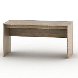TEMPO KONDELA Písací stôl 150, dub sonoma, TEMPO ASISTENT NEW 020 PI