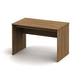 TEMPO KONDELA Písací stôl, bardolino tmavé, TEMPO ASISTENT NEW 021 PI