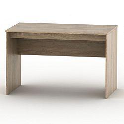 TEMPO KONDELA Písací stôl, dub sonoma, TEMPO ASISTENT NEW 021 PI