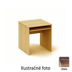 TEMPO KONDELA Písací stôl, slivka, TEMPO AS 07