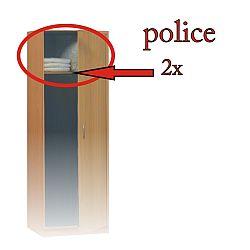 TEMPO KONDELA Police, biele, FOCUS 44091