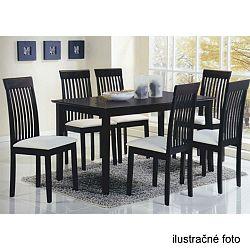TEMPO KONDELA Stôl 135, wenge, ASTRO
