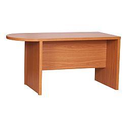 TEMPO KONDELA Zasadací stôl s oblúkom, čerešňa, OSCAR T03