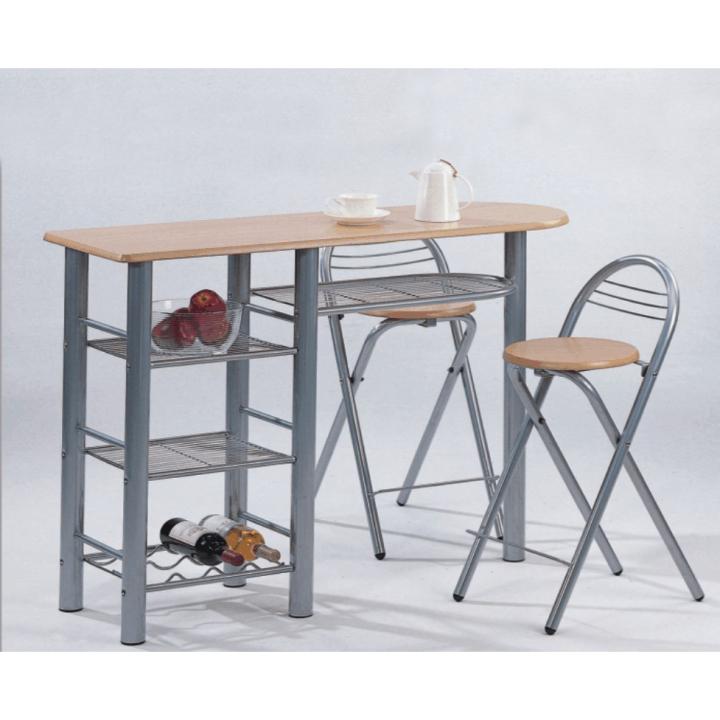 59374669fe70 TEMPO KONDELA Barové stoličky + barový pult