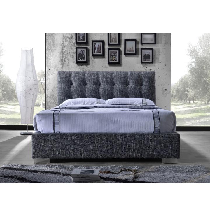 3a460190261f TEMPO KONDELA Manželská posteľ s roštom